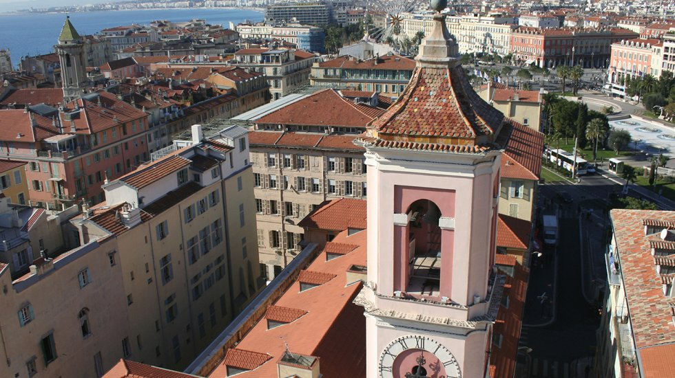 Vista aérea de Niza
