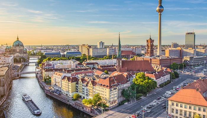 Vista aérea Berlin
