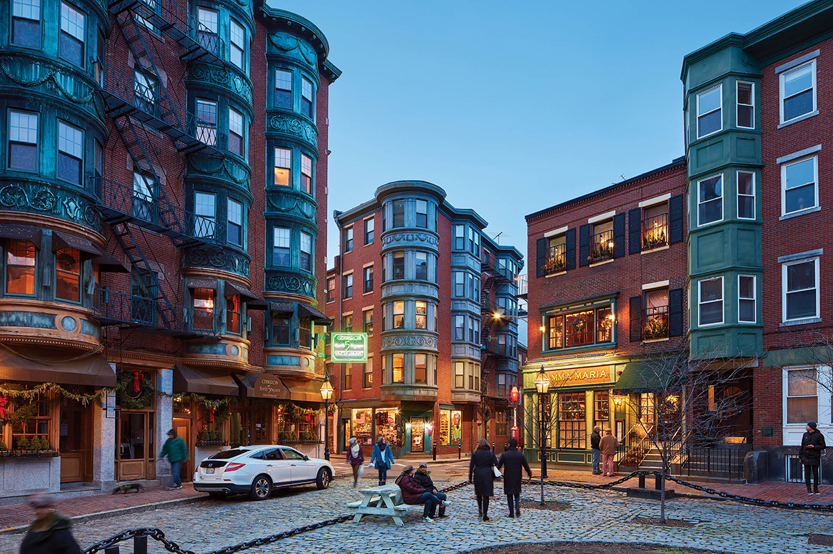 North End, la belleza de Boston