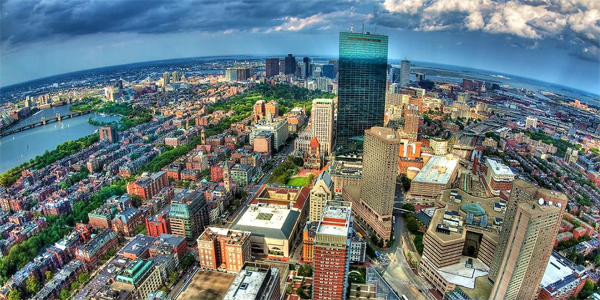 Boston desde el aire