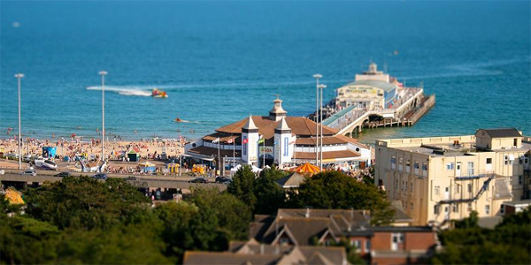 Vistas de Bournemouth