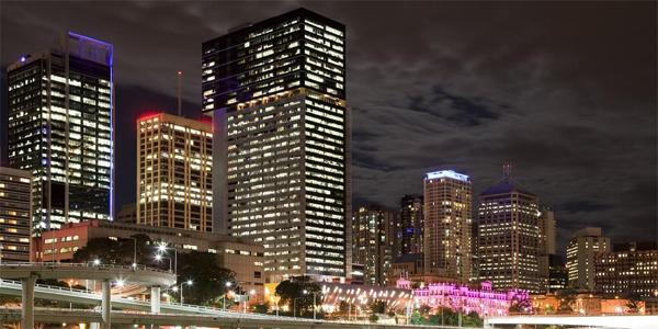 Brisbane de noche