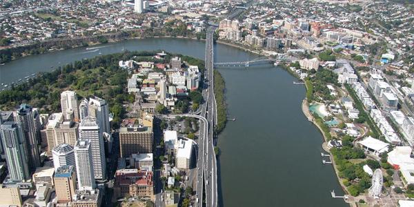 Brisbane desde el aire