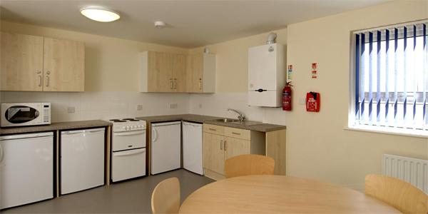 La cocina de la residencia