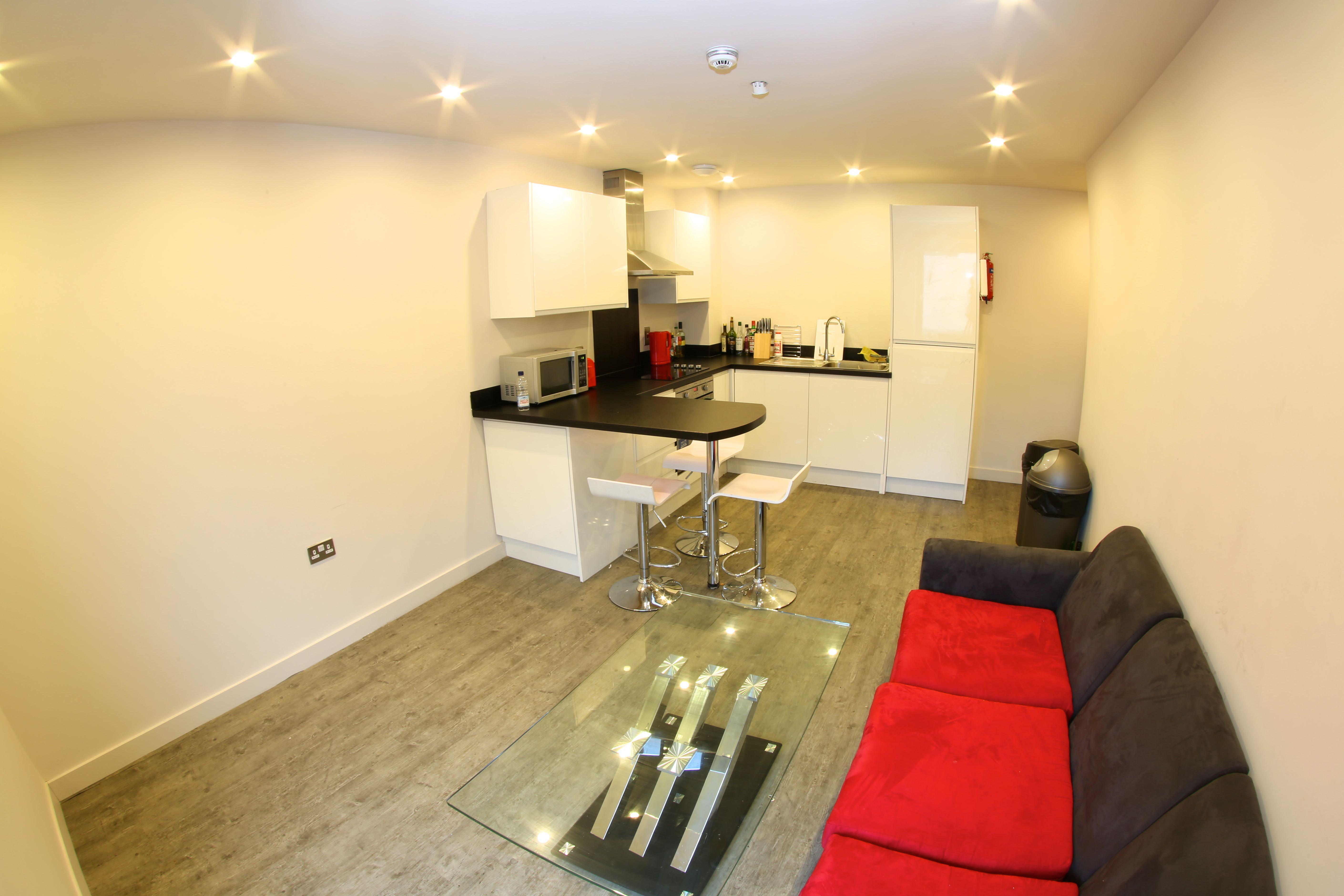 Sala de estar standard residencia