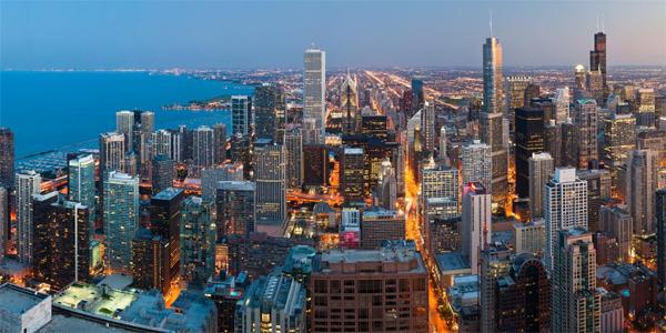 Chicago de noche