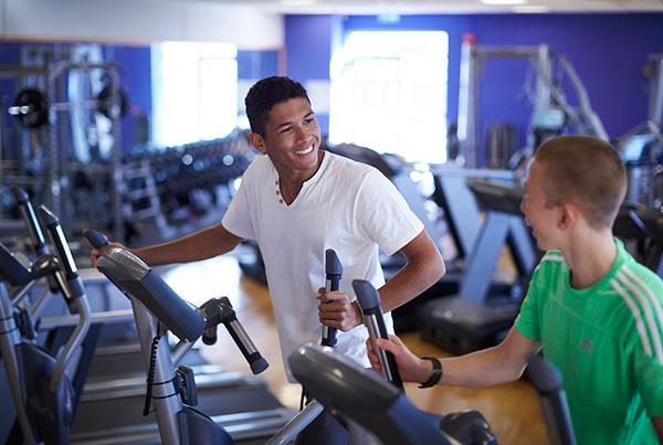 Gym en nuestro college de Chichester
