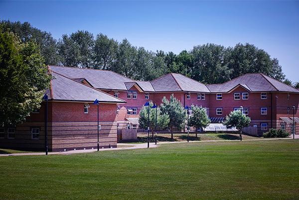 Complejo de nuestra residencia en Chichester