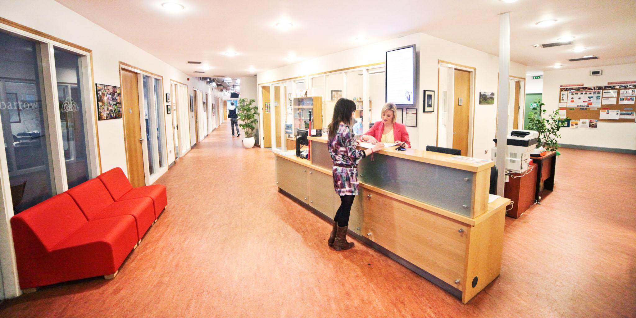 Recepación escuela Galway