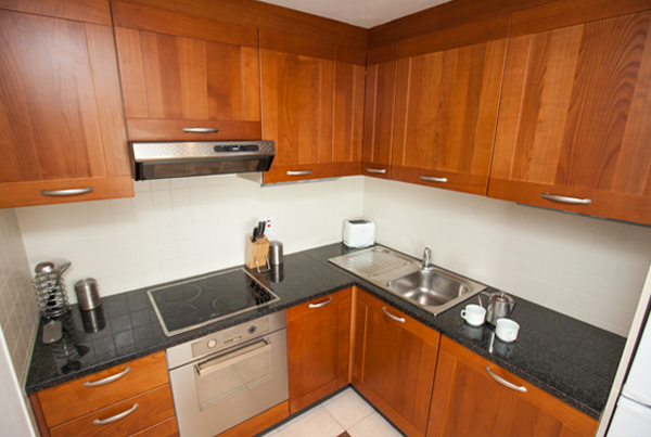 Cocina apartamento Galway Adultos