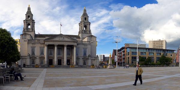 Millenium Square de Leeds