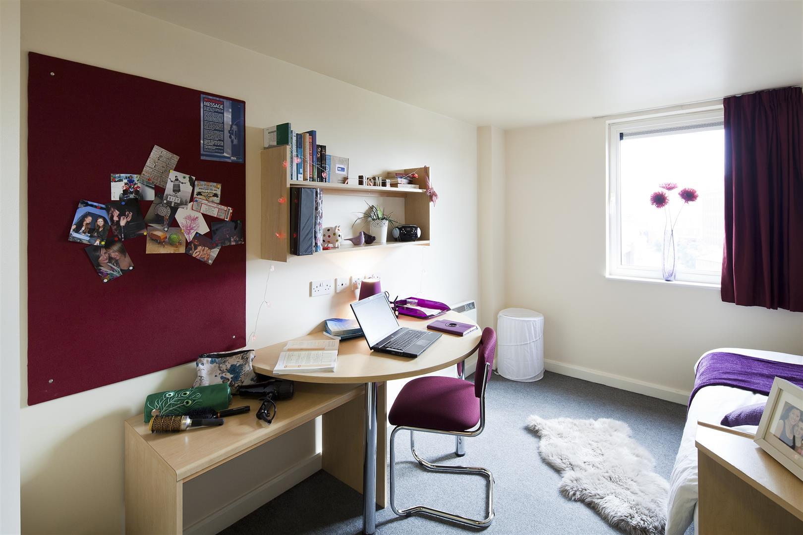 habitación de apartamento