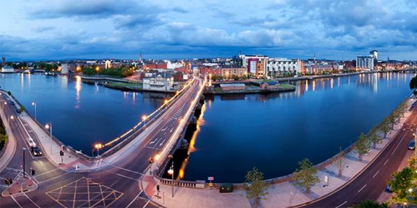 Panorámica de Limerick