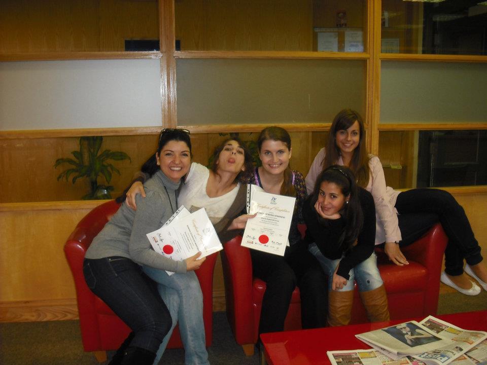 alumnas con certificado