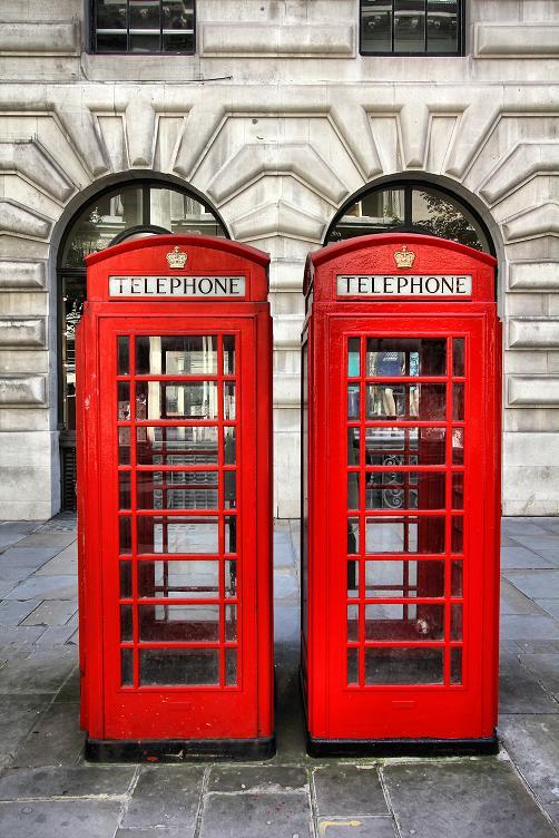 cabina telefono Londres
