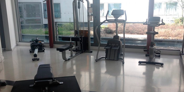 sala GYM frienship house