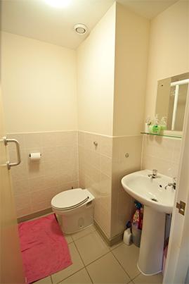 Baño individual en la residencia