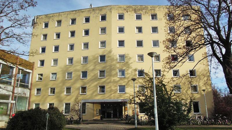 Edificio de nuestra escuela en Munich