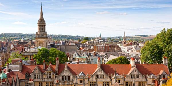 La bella ciudad de Oxford