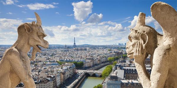 Paris a los pies de las gárgolas