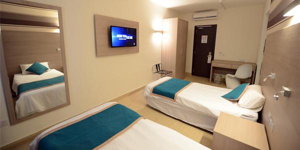 Habitación doble - Days Inn residence