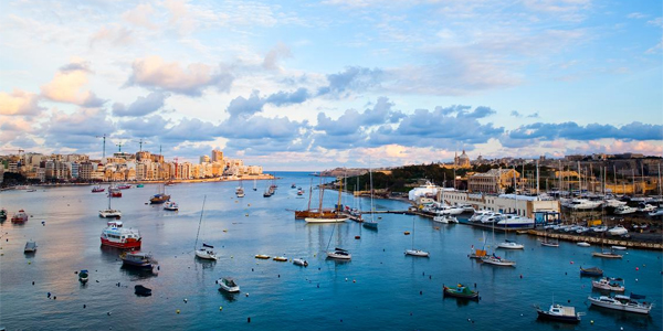 Puerto de Sliema, Malta