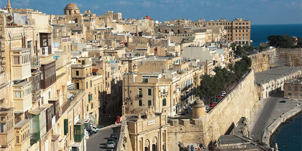Calles de Sliema, Malta