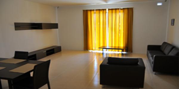 sala de estar apartamento malta