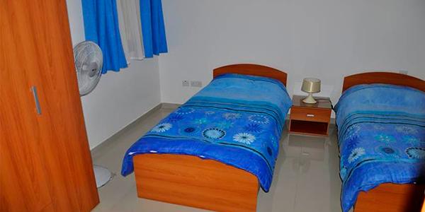 apartamento compartido camas malta