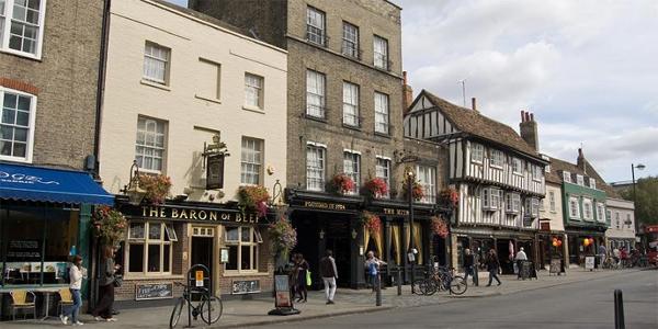 Calles de Cambridge