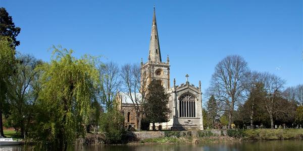 Iglesia de Stratford upon Avon