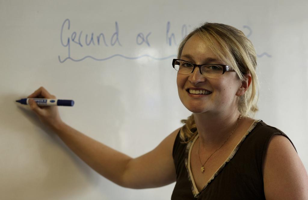 una de nuestras profesoras