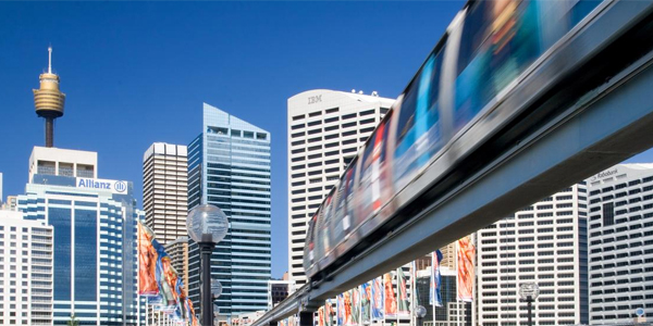 Monorail and the Sydney Tower
