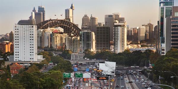 Sydney, rush hour