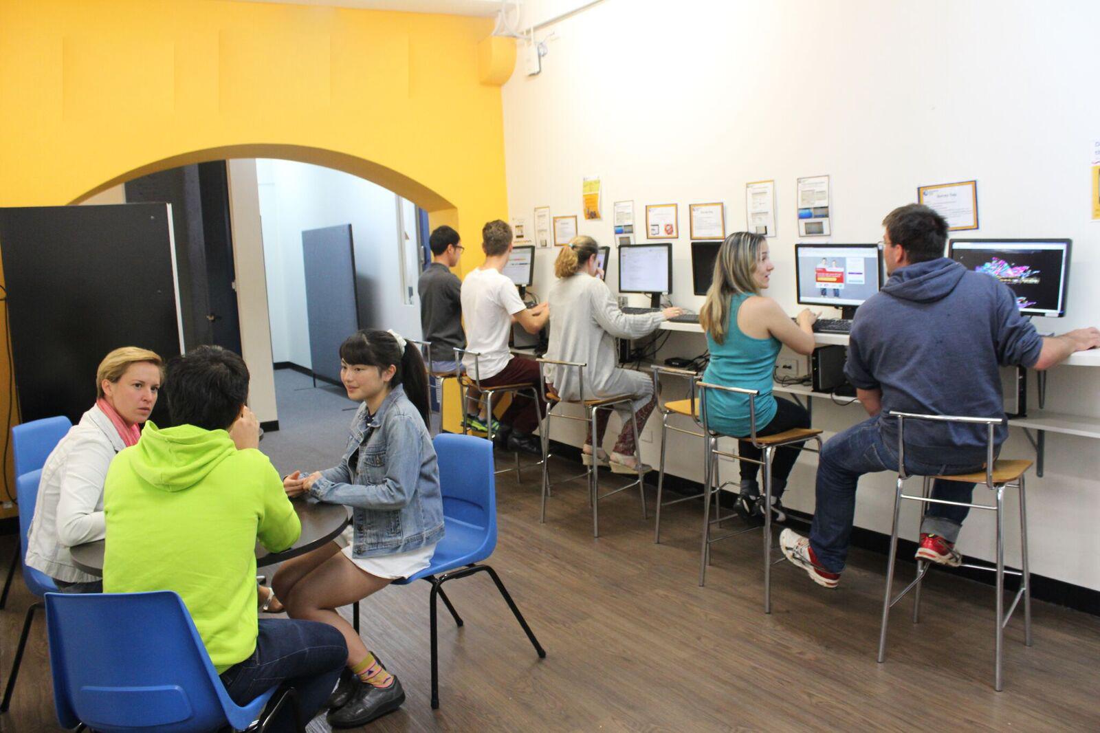 Student Lounge.