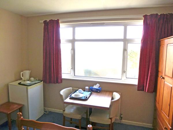 habitación individual ventana