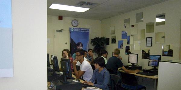 Computers area