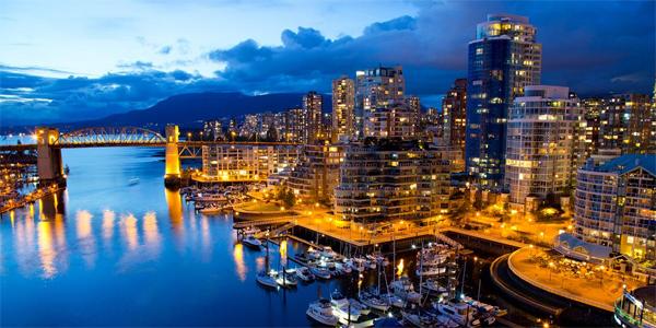 Vancouver de noche