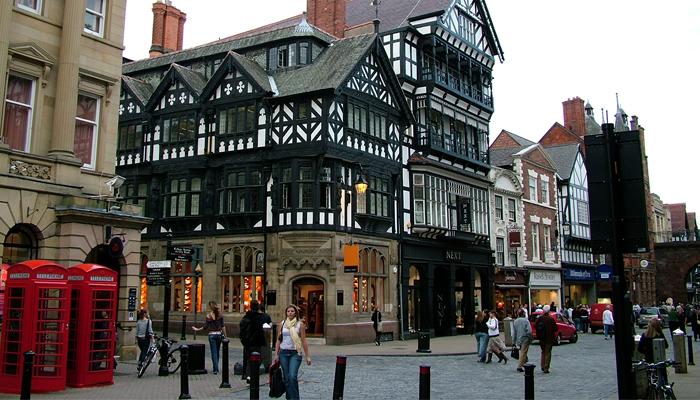 Calles de Chester