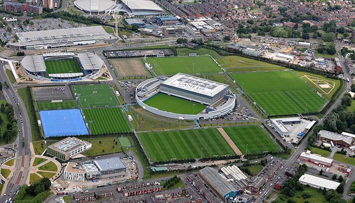 Manchester City Academy aérea
