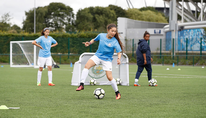 Chicas del Manchester City Academy