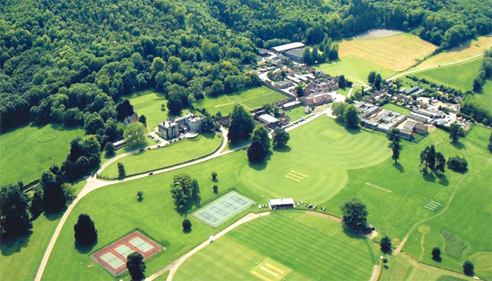 Seaford College vista aérea