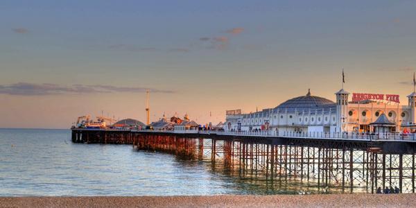 Vistas del muelle de Brighton