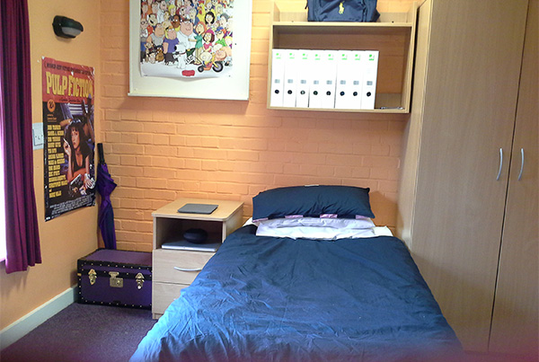 Habitación individual en nuestra residencia de Eastbourne