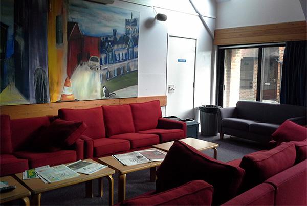 Sala de estar y descanso en nuestra residencia de Eastbourne