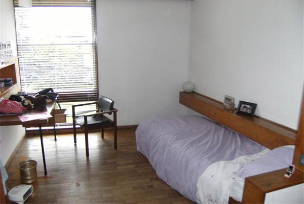 Habitación individual de nuestra residencia en Dublín