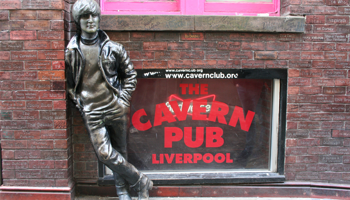 Estatua de Los Beatles en Liverpool