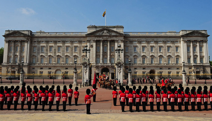 Buckingham Palace en Londres