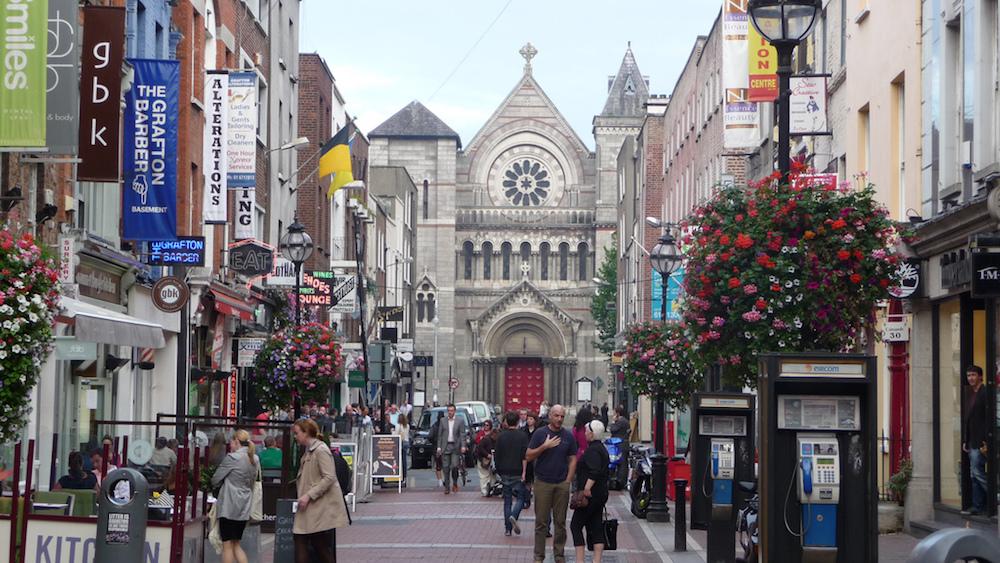 Grafton St, Dublín