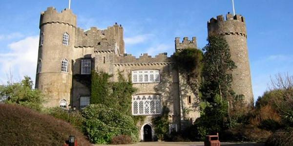 El Castillo de Malahide en Dublín